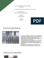 Aspeectos Claves de La Guerra Colombiana