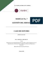9. Caso m7. Gestion Del Riesgo