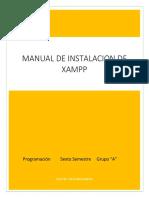 Manual de instalación de XAMPP