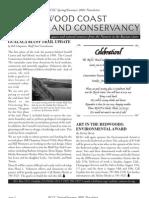 Spring-Summer 2001 Newsletter Redwood Coast Land Conservancy