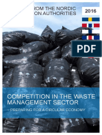 Nordic Report 2016 Waste Management Sector