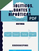 Ansioliticos, Sedantes e Hipnóticos- Psiquiatricos