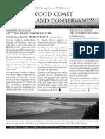 Spring-Summer 2003 Newsletter Redwood Coast Land Conservancy