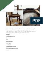 Reciclado de sillas thonet
