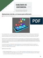 Hablemosdeenfermeria.blogspot.com.Ar-Aplicaciones Móviles Un Recurso Para Enfermería
