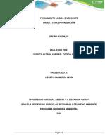 Fase 1 – Conceptualización.