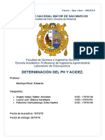 PRACTICA 7 Determinacion de Ph y Acidez