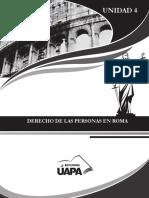 Manual de Derecho Romano Cap.4