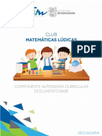 Club Matematicas Ludicas Doc Base Sec