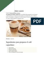 Café capuchino casero.docx