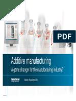 Roland Berger Additive Manufacturing 1