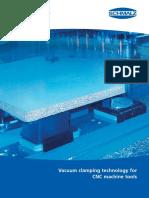CNC Vakuum Clamping