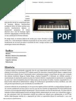 Sintetizador – Wikipédia, A Enciclopédia Livre