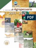 Politica Agropecuaria 2011-15