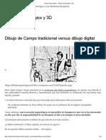 Dibujo Arqueológico – Dibujo Arqueológico y 3D