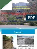 PONENCIA BENDEZU- Control de Erosión Hídrica