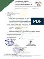 Surat Undangan Universitas Halu Oleo