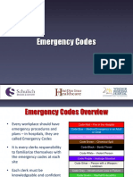 Schulich Emergency Codes 2017