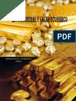 ley de mineral y valor economico