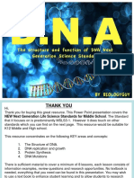 The Structure and Function of Dna 2014