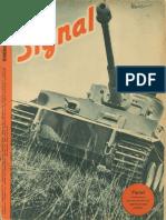 Signal anul 4, nr. 10, mai 1943 ed. romaneasca