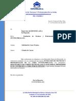 Carta Para Infotep-Solicitud