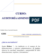 Mv Auditoria Administrativa