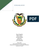 Informe Extrusora de Plástico