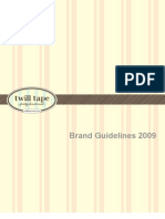 Twill Tape Branding Guidelines