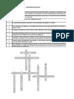 Crucigrama Inclusivo