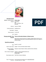 Curriculum André Cunha