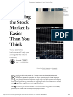Predicting the Stock Market is Easier Than You Think