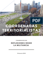 Coordenadas Territorialistas 2018 Congreso RD Liviano