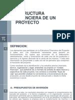 Estructura Financiera de Un Proyecto