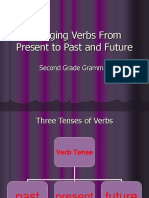 Changing Verbs From Present to Past