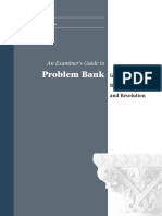 PROBLEM BANK IDENTIFICATION, REHABILITATION AND RESOLUTION
