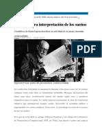 La verdadera interpretación de los sueños - Javier Sampedro