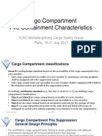 Cargo Compartment Fire Containment Characteristics by ICCAIA
