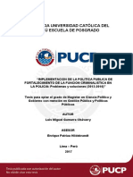 Gamarra Chavarry Luis Miguel Implementación
