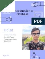 intro a firebase