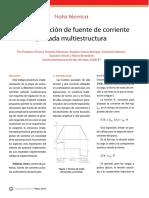 Conicet Implementacion de Fuente de Corriente Pulsada Multiestructura