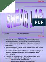 Shear Lag Model