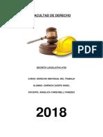 Derecho Trabajo