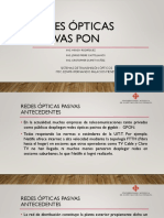 Presentacion Sistemas de Transmision Optica_ Redes Pasivas Opticas Pon