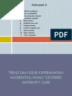 Trends Dan Issue Keperawatan Maternitas Upaya Penurunan AKI (Maternitas)