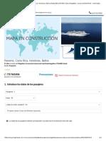 Crucero Panamá, Costa Rica, Honduras, Belice desde $46,254 MXN. Barco Magellan, Cruise and Maritime - www.logitravel.com.mx.pdf
