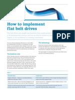 Ctl024 How Implement Direct Flat Belt Drives
