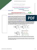 Cockcroft–Walton Voltage-multiplier Circuit Generator