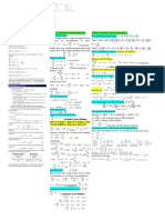 Cheat Sheet Modelling 1718
