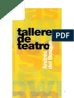 Talleres Con Andres Del Bosque.